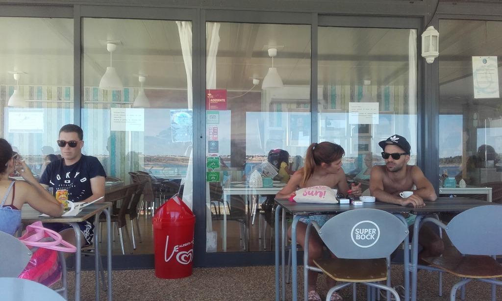 Zona do restaurante e Esplanada