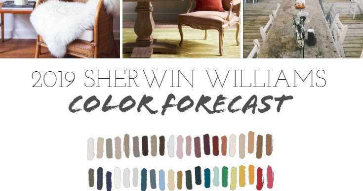 2019 Paint Color Forecast from Sherwin Williams | Postcards