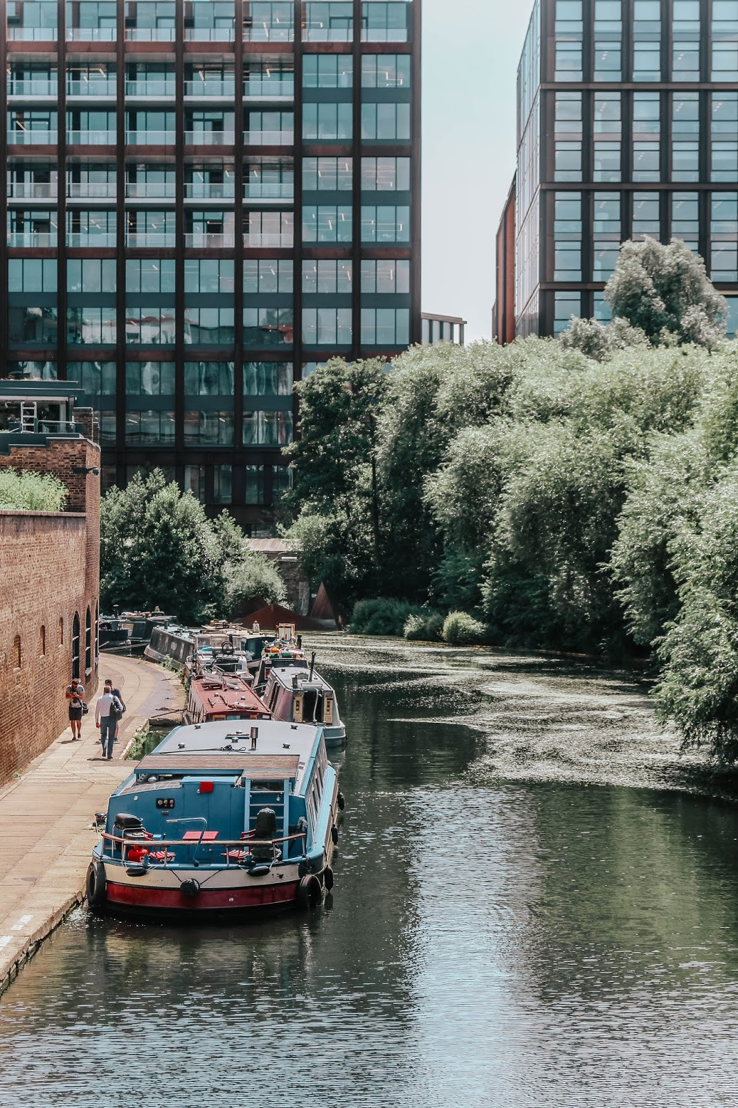 Regent's Canal in Summer 2018