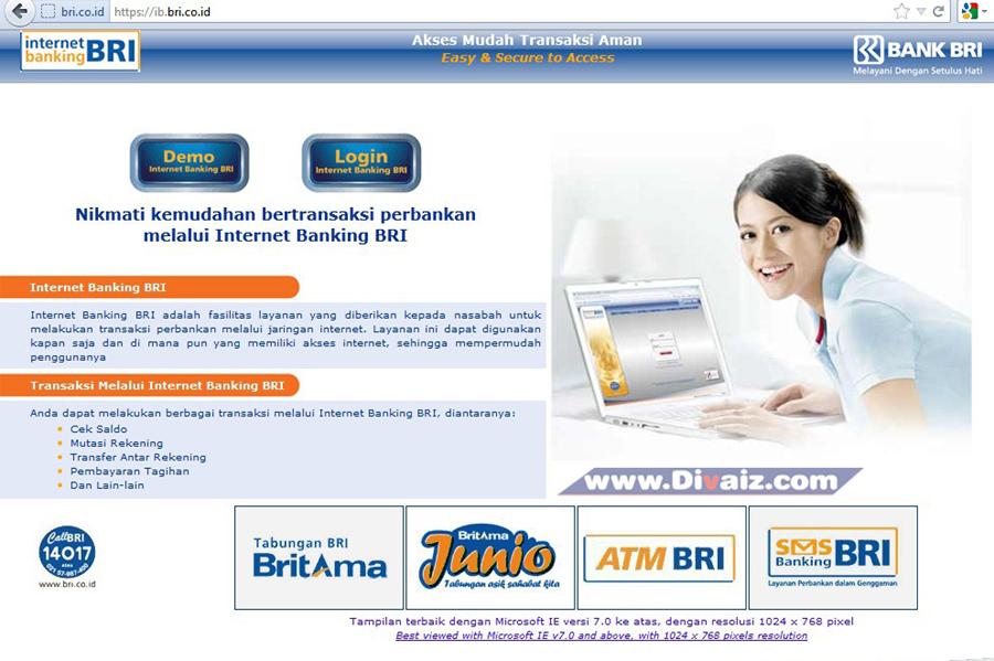 Cara Daftar dan Mengaktifkan Internet Banking BRI
