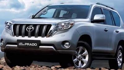 Toyota Land Cruiser Prado 2017 luxury SUV