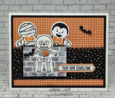 Cookie Cutter Halloween, Created by Sandy Mott, The Scrap N' Stamp Shop