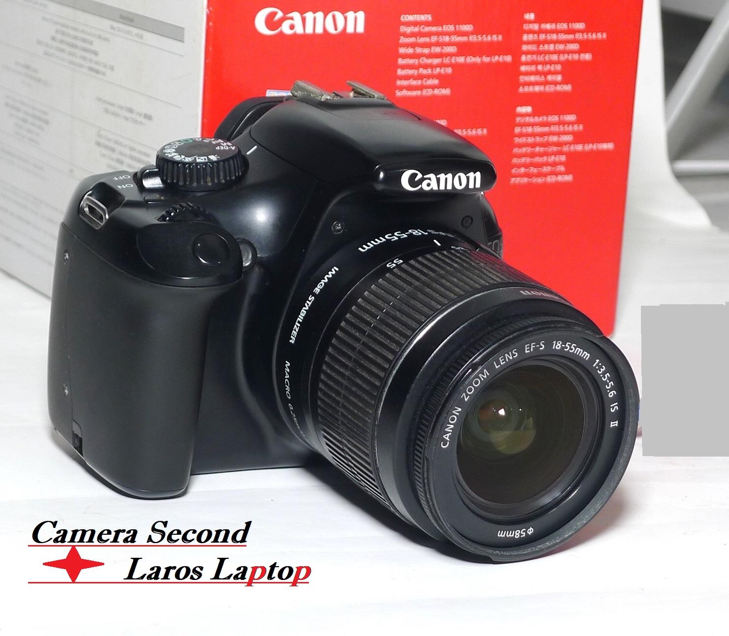 Jual Kamera Canon Eos 1100d Fullset Second Jual Beli Laptop