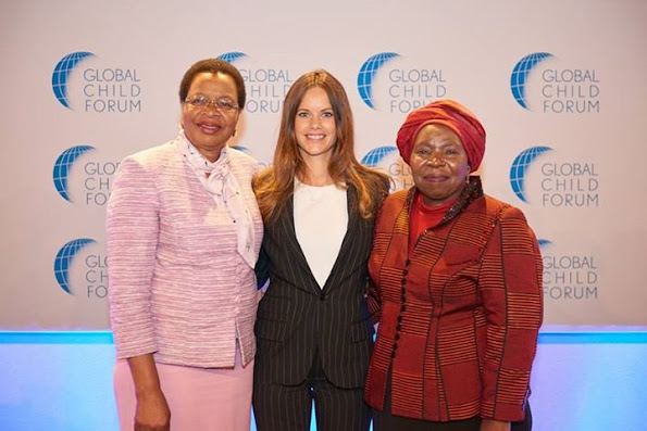 Princess Sofia of Sweden in Pretoria, South Africa for the Global Child Forum