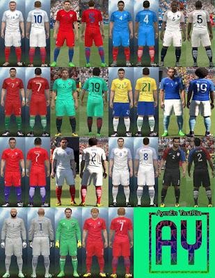 PES 2016 AY Kit Pack 2016 by YastRin