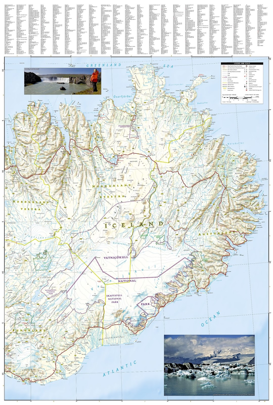 Iceland: Travel map