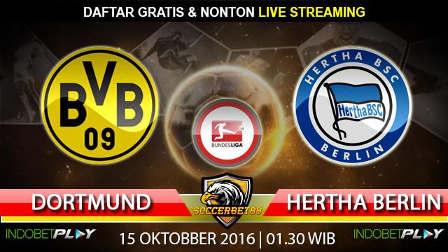 Prediksi Dortmund vs Hertha Berlin 15 Oktober 2016 (Liga Jerman)