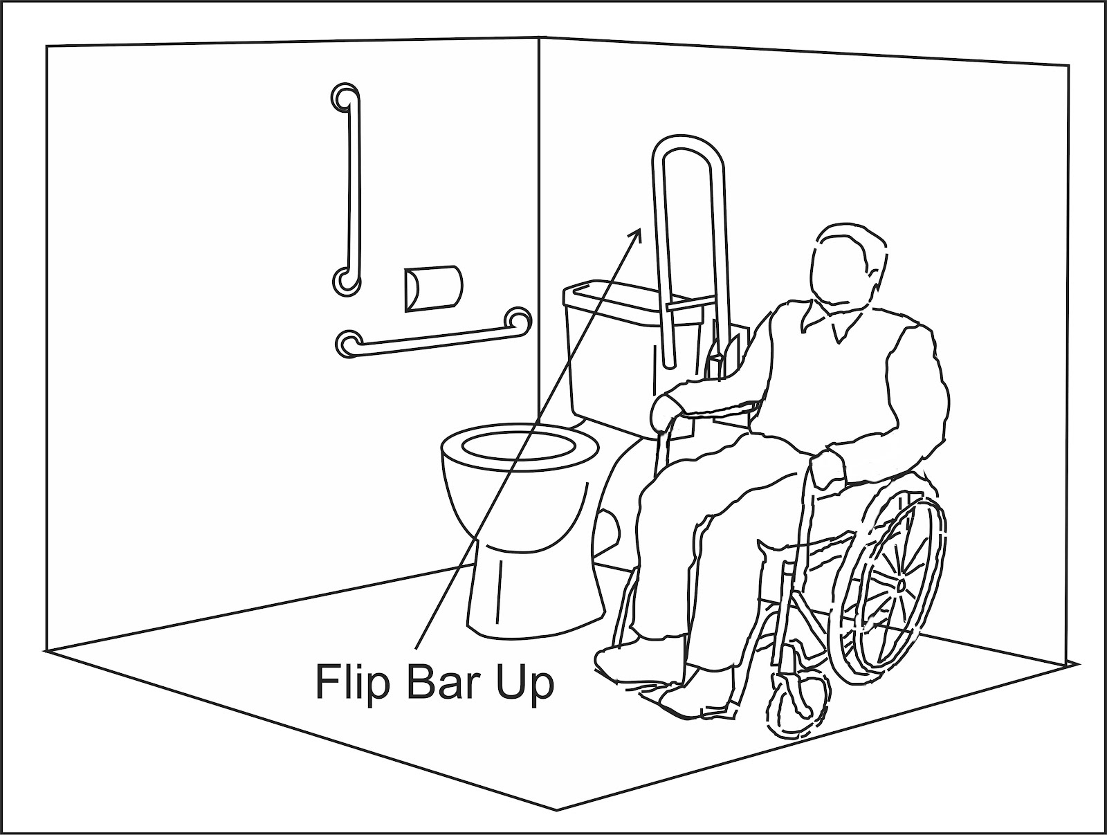 dimensions of a disabled toilet.  Wheelchair Access Penang Wapenang Toilet WC For Disabled People