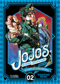 Ya a la venta JOJO'S BIZARRE ADVENTURE Stardust Crusaders #2