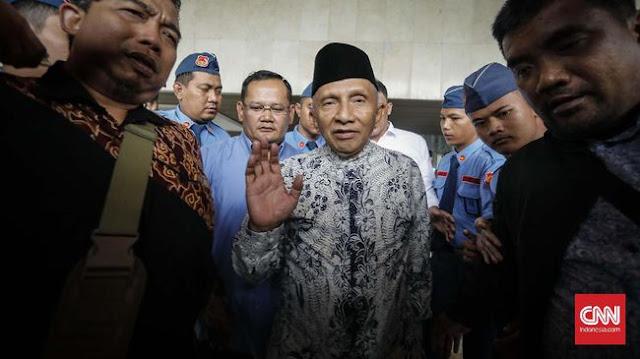 Kritik Keras Jokowi, Amien Rais: Ketika utang menggunung, mengatakan jangan takut, bilangnya ora popo
