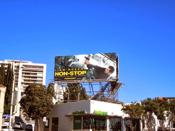 NonStop movie billboard