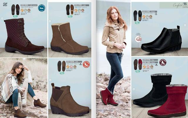 Catalogo Andrea zapato confort otoño invierno 2016