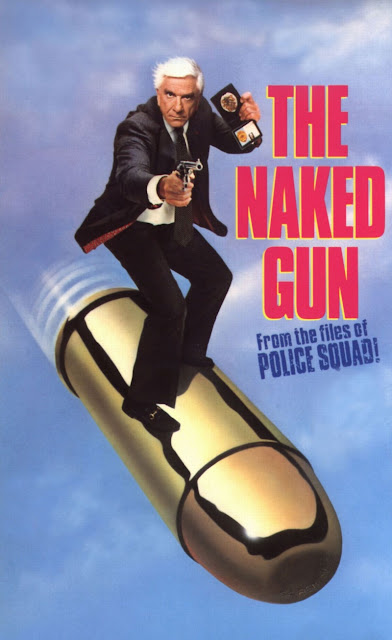 The Naked Gun: From the Files of the Police Squad! 1988 comedy movie poster