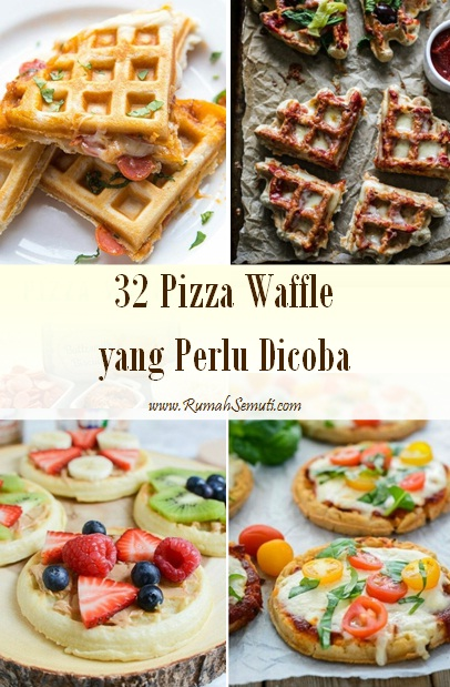 32 Pizza Waffle yang Perlu Dicoba