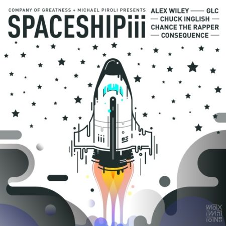 Consequence ft. Alex Wiley, Chance The Rapper, GLC & Chuck Inglish – Spaceship III