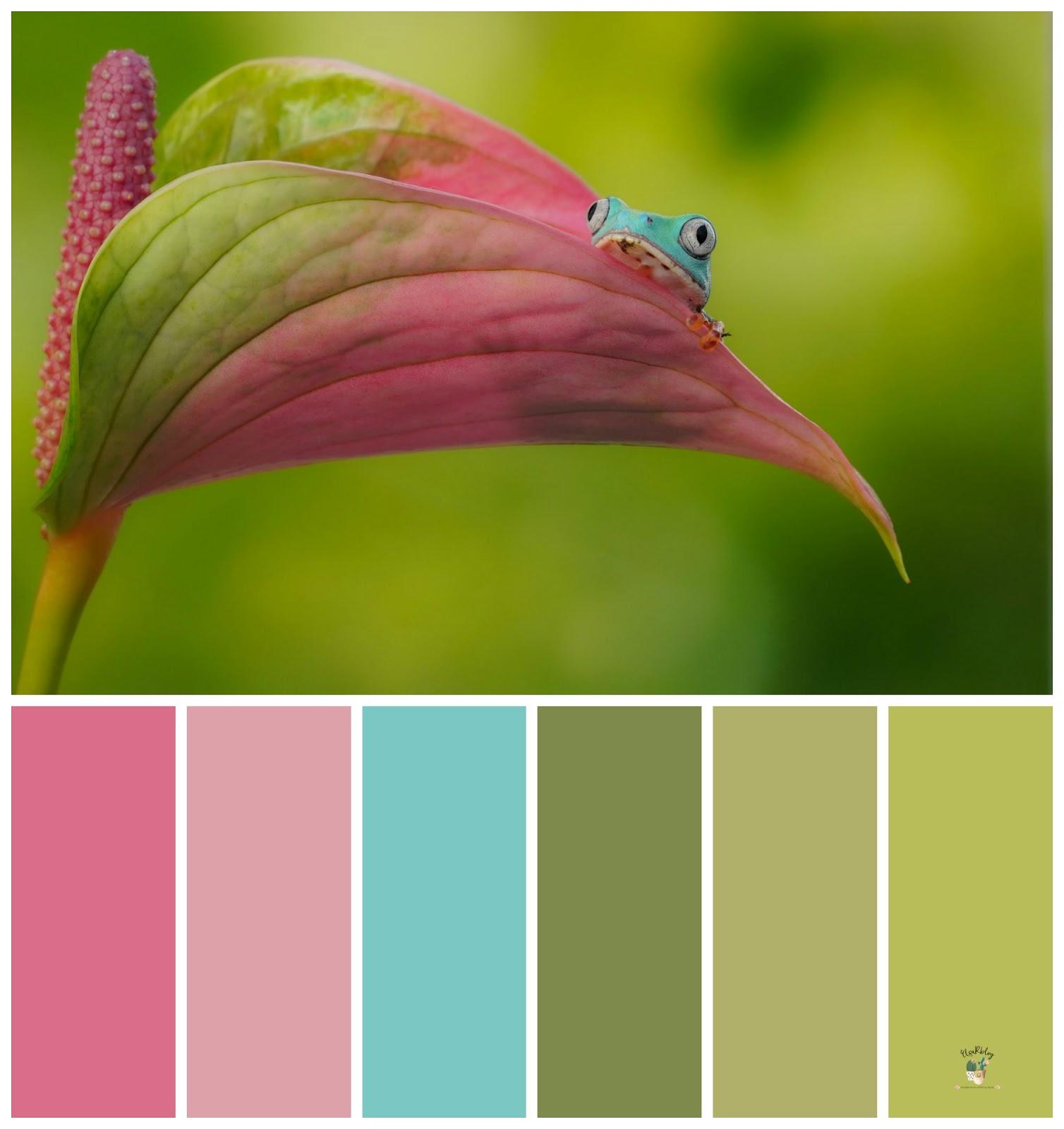 kleurenpalet inspiratie voor de babykamer