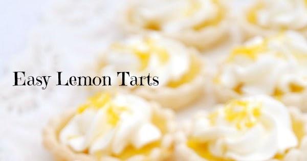 Easy Lemon Tartlets from Tea Time Magazine