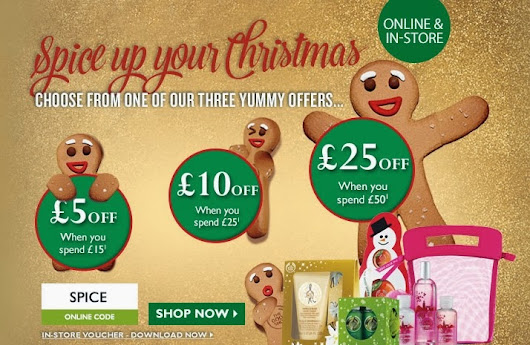 Offer | Amazing Discounts and Free Delivery at The Body Shop!