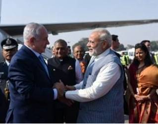 road-show-of-modi-and-netanyahu-at-ahmedabad