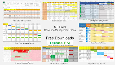 resource plan templates, resource management using excel