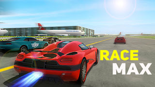 تحميل لعبة سباق Race Max نقود لاتنتهي (بدون ملف obb)