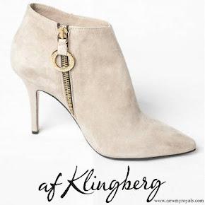 Crown Princess Victoria wore Af Klingberg Rakel Suede Boots