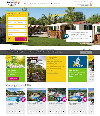 SUNCAMP HOLIDAYS - gruppo olandese specializzato nell'organizzazione di vacanze in Campeggio!!