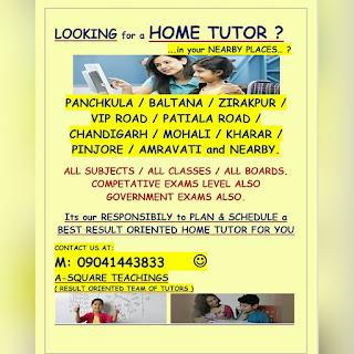 home tuition & tutor in panchkula