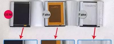 Cara membedakan baterai samsung kw