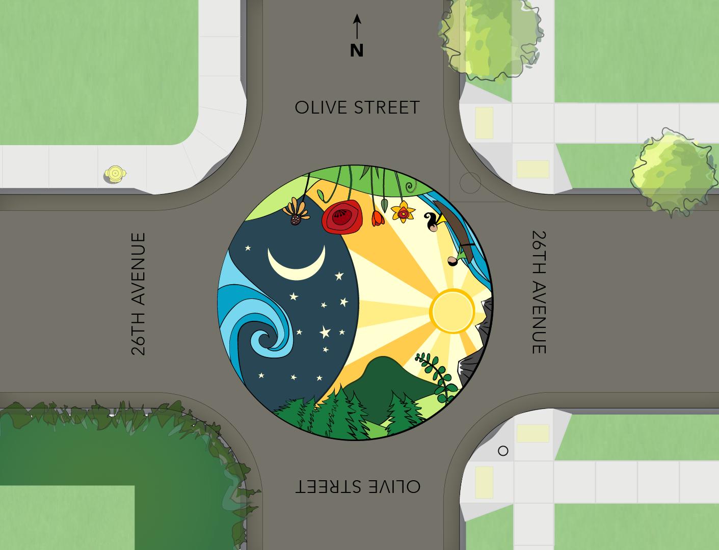 SW Oregon Architect: Tactical Urbanism: 26th & Olive