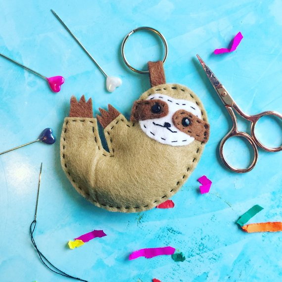 Sloth sewing pattern