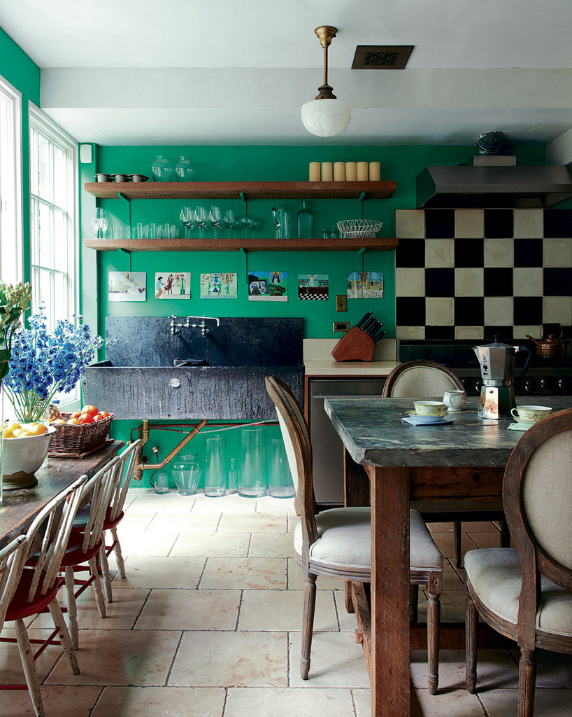 Kitchen of the week: A country kitchen in the City | Foto Gambar ...
