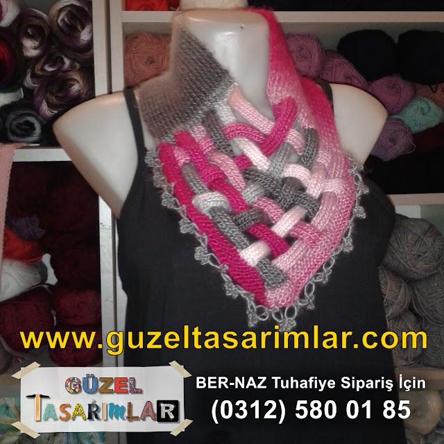2016 El Örgüsü Saç Bandı, Atkı ve Şal Modelleri