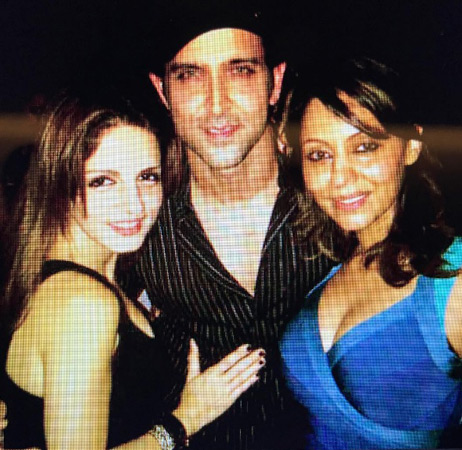 Suzanne-Hrithik-made-with-old-pictures