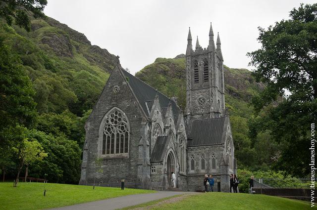 Iglesia Abadia Kylemore Condado de Galway Irlanda