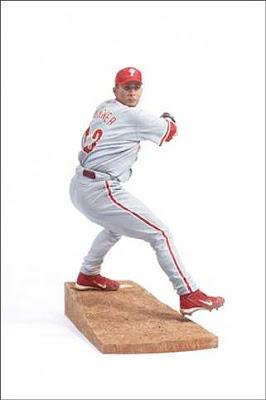 Escultura  hiperrealistas de beisbolista