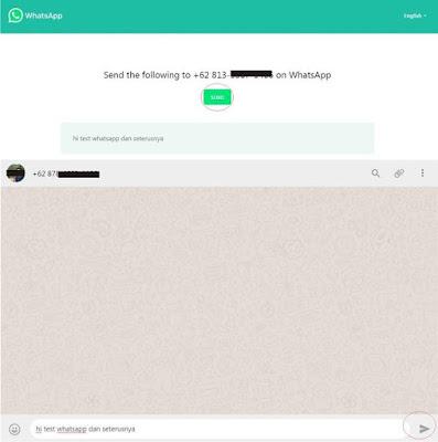 Cara Kirim Pesan WhatsApp Tanpa Simpan Nomer Penerima