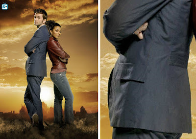 10th Doctor blue suit back waistband