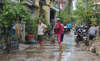 Limbah Lumpur Banjir