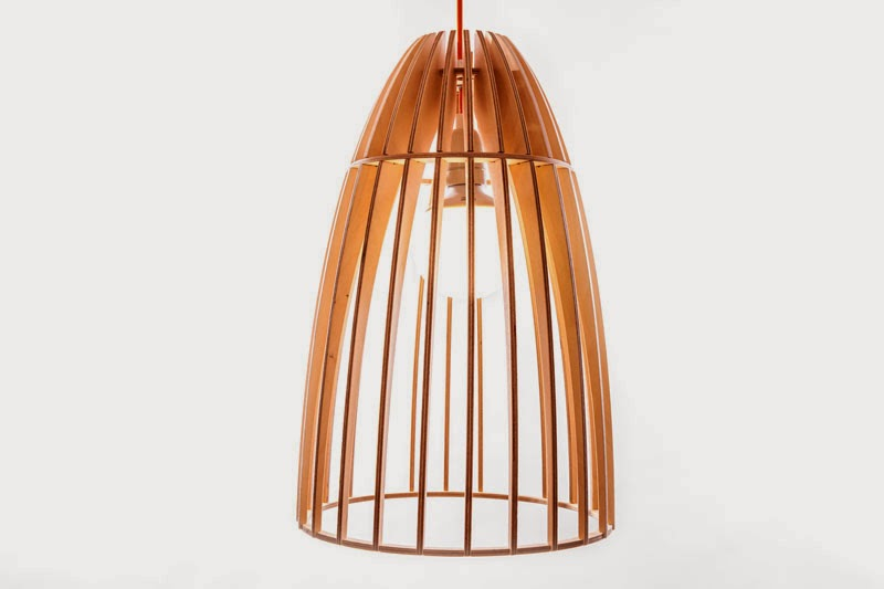 Wood & Bamboo Pendant Lights 25