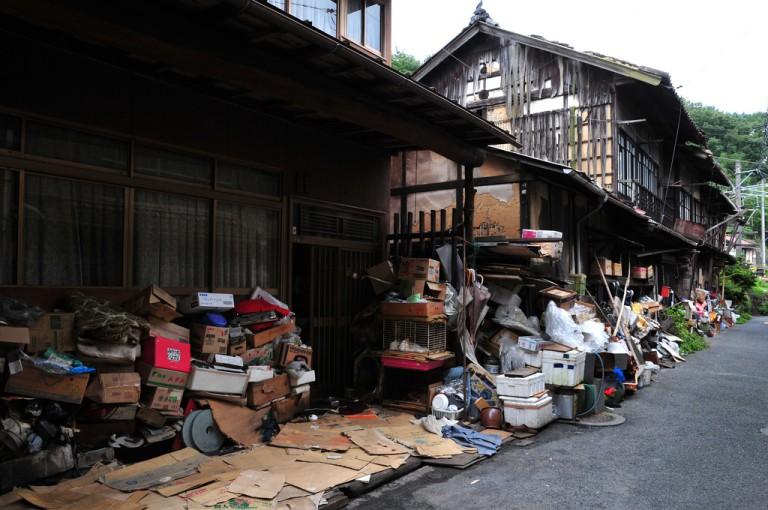 A forgotten akiya home in Okayama