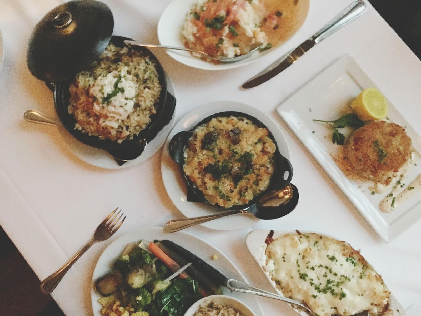 food at Eddie V's - A restaurant in Houston, Texas