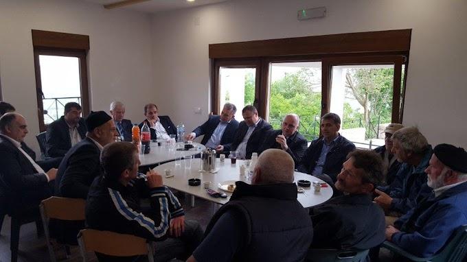NE PRIČEKAŠE GA 'ZABORAVLJENI': Predsjedavajući Zastupničkog doma Parlamenta FBiH Edin Mušić posjetio Bošnjake Ljubuškog