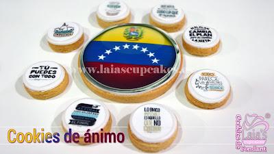 cookies galletas personalizadas fondant impresión comestible regalo ánimo frases mr wonderful laia's cupcakes puerto sagunto
