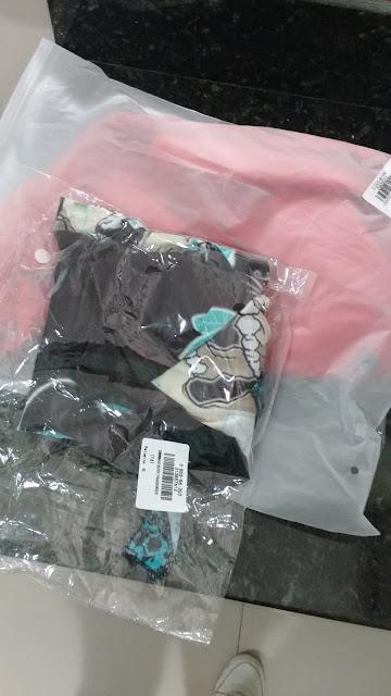 Recebidos Loja Dresslily embalagem