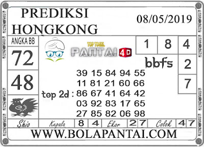 """Prediksi Togel """"HONGKONG"""" PANTAI4D 08 MEI 2019"""