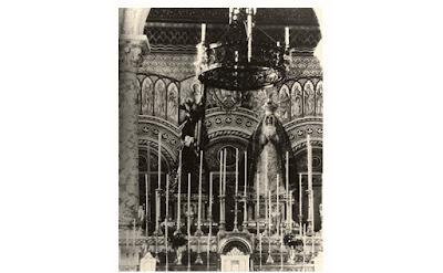 La Archicofradía del Paso y la Esperanza de Málaga proyecta una reforma provisional del altar de la basílica