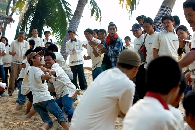 outbound-puau-bidadari, gathering, team-building