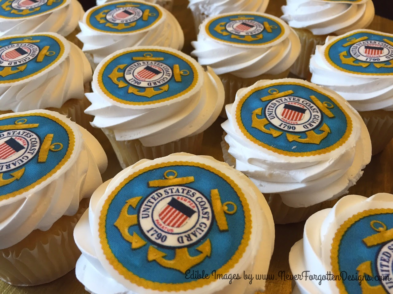 Your Edible Image Cupcake Toppers Did What