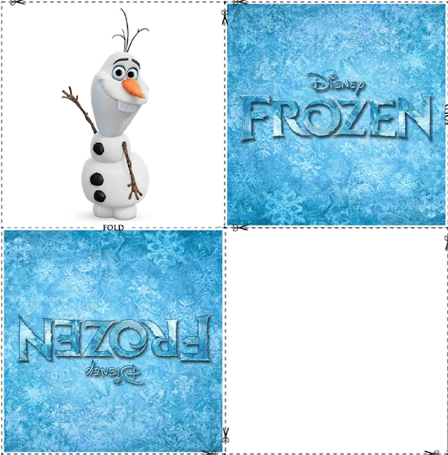 Free Printable Frozen Memory Cards.